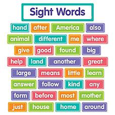 Scholastic More Sight Words Bulletin Board
