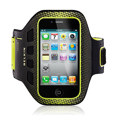 Belkin® Easefit Armband For Apple® iPhone® 5, Blacktop