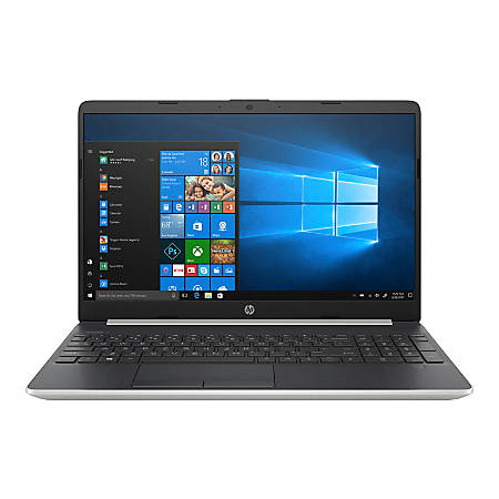 "HP 15-dw0050od Laptop, 15.6"" Touch Screen, Intel® Core™ i3, 8GB Memory, 256GB Solid State Drive, Windows® 10 Home, 7HE76UA#ABA"
