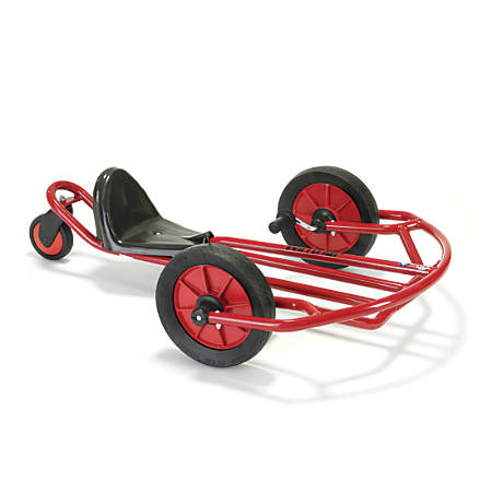 "Winther Swingcart, For Ages 6-12, 30 13/16""H x 11 5/16""W x 35""D, Red"