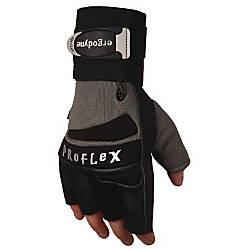 LARGE IMPACT GLOVE WITHWRIST SUPPORT SILVER