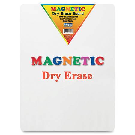 "Flipside Magnetic Dry-Erase Board, 9"" x 12"", White"