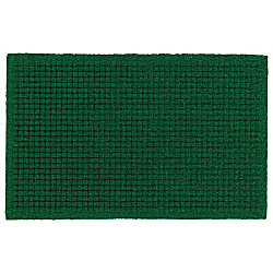 "M+A Matting Brush Hog Plus Floor Mat, 48"" x 96"", 20% Recycled, Green Brush"