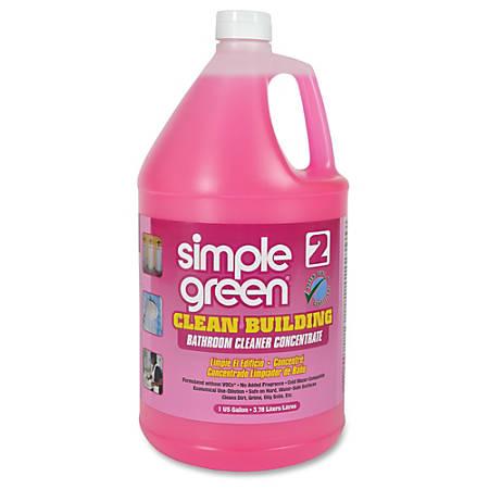 Simple Green Clean Building Bathroom Cleaner Concentrate Liquid - Bathroom cleaner liquid
