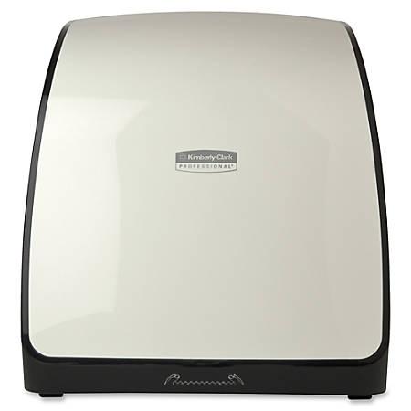 "MOD Hard Roll Towel Dispensing System, 12 2/3""H x 13""W x 7 1/4""D, White"