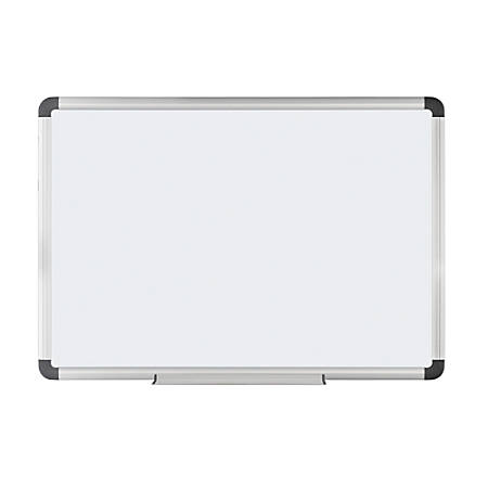 "FORAY™ Magnetic Dry-Erase Boards With Aluminum Frame, 36"" x 48"", White Board, Silver Frame"