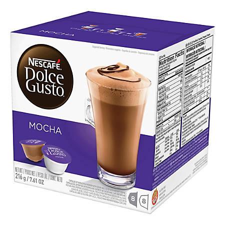 Nescafe Dolce Gusto Mocha Coffee Single-Serve Pods, Carton Of 16