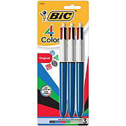 BIC 4 Color Retractable Ballpoint Pen