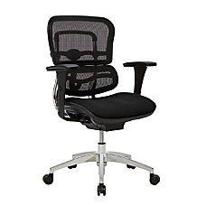 WorkPro 12000 Ergonomic MeshFabric Managerial Mid