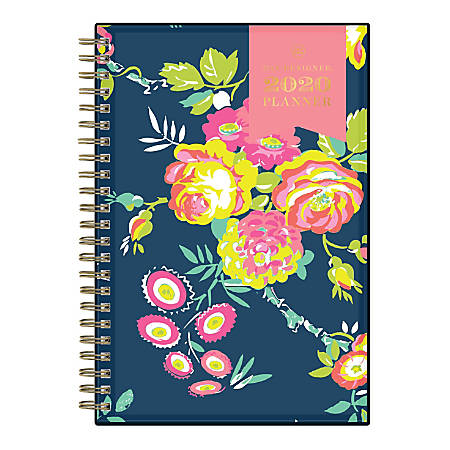 "Day Designer CYO Weekly/Monthly Planner, 5"" x 8"", Peyton Navy, January To December 2020, 103620"