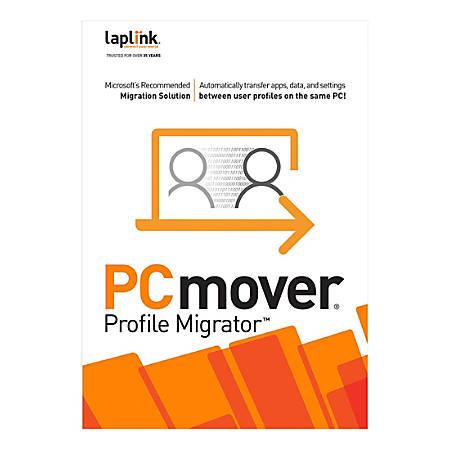 Laplink PCmover Profile Migrator 11 - 10 Uses