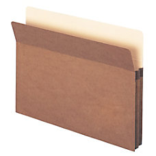 Smead Expanding File Pockets Redrope 1