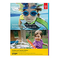 Adobe Photoshop Elements 2019 & Premiere Elements 2019 Student & Teacher Edition Mac