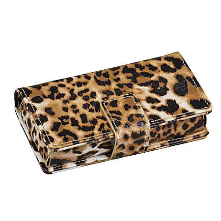 HealthSmart® Fashion 7-Day Travel Pill Organizer, Leopard
