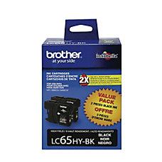 Brother LC65HY BK High Yield Black