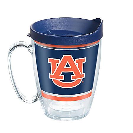 Tervis NCAA Legend Coffee Mug With Lid, 16 Oz, Auburn Tigers