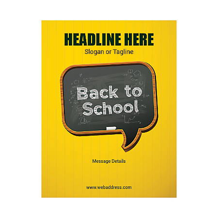 Custom Flyer, Vertical, Back To School