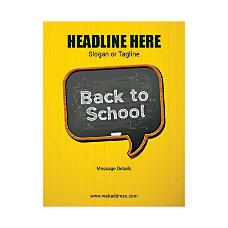 Custom Flyer Vertical Back To School