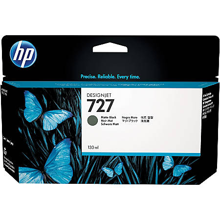HP 727 Original Ink Cartridge - Matte Black