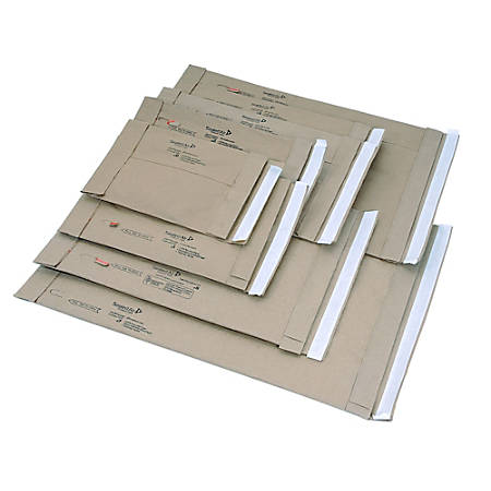 """Sealed Air Jiffy Self-Seal Padded Mailers, Size 7, 14 1/4"""" x 20"""", Satin Gold, Pack Of 50"""