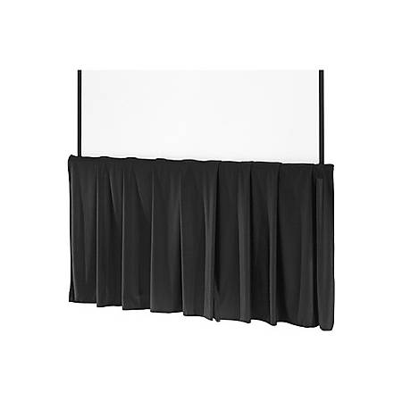 Da-Lite Tripod Skirt - Projection screen skirt - black