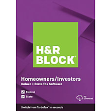 H R Block 2019 Deluxe State