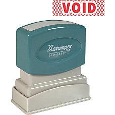 Xstamper Pre Inked VOID One Color