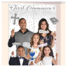 Amscan Religious Communion Scene Setters With