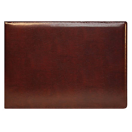 Custom Executive 7-Ring Binder, Brown