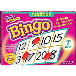 Trend Addition Bingo Game ThemeSubject Learning