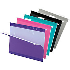 Pendaflex Premium Reinforced Color Hanging Folders