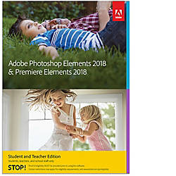 Adobe Photoshop Elements 2018 Premiere Elements