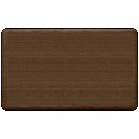 "GelPro NewLife Designer Comfort Low-Profile Anti-Fatigue Mat, 18"" x 30"", Java"