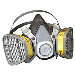 21579 HALF MASK RESPIRATOR LARGE FORGANIC