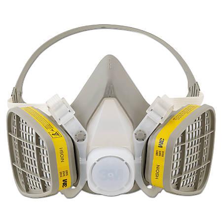 5000 Series Half Facepiece Respirators, Medium, Organic Vapors/Acid Gases