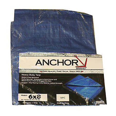 ANCHOR 11032 15' X 25' POLY TARP WOVEN LAMIN