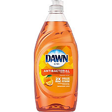 Dawn Orange AntiBacterial Dish Liquid Liquid