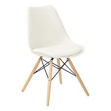 Ave Six Allen Guest Chair WhiteNatural