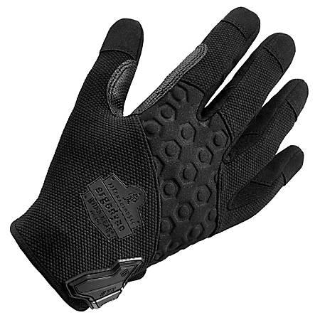 Ergodyne ProFlex 710 Abrasion-Resistant Tactical Gloves, Small, Black