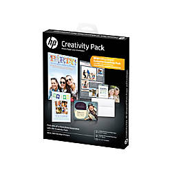 HP Advanced Photo Paper Creativity Pack