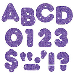 TREND Ready Letters Glitter 3 Purple