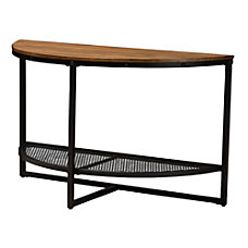 Baxton Studio Alisha Console Table OakDark