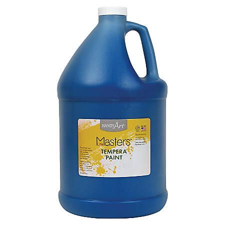 Handy Art Little Masters Tempera Paint Gallon - 1 gal - 1 Each - Blue
