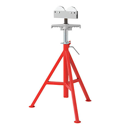 RJ-99 Roller Head High Pipe Stand, 32 in to 55 in High