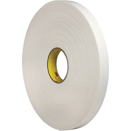 3m double sided foam tape 3 core 1 x 72 yd white office depot. Black Bedroom Furniture Sets. Home Design Ideas