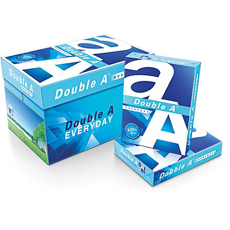 Double A Copy And Multipurpose Paper, Legal Paper Size, White, 500 Sheets  Per Ream, Carton Of 10 Reams Item # 9552705