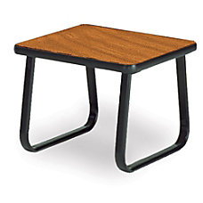 OFM Reception Area Table Square Cherry