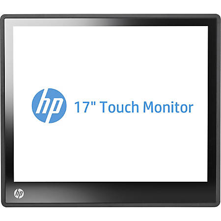 "HP 17"" LED LCD SXGA Touch Screen Monitor, Jack Black, L6017tm"