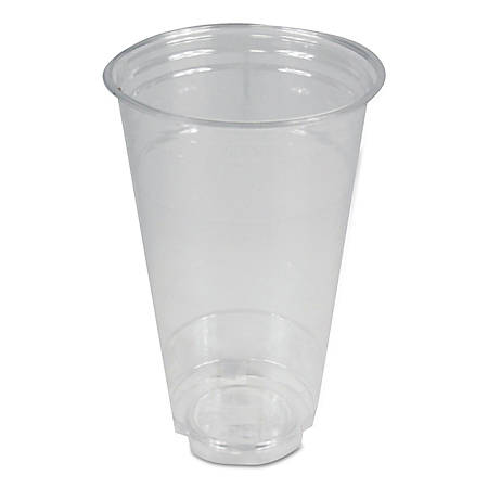 Boardwalk® Plastic Cold Cups, 24 Oz, Clear, Pack Of 600 Cups