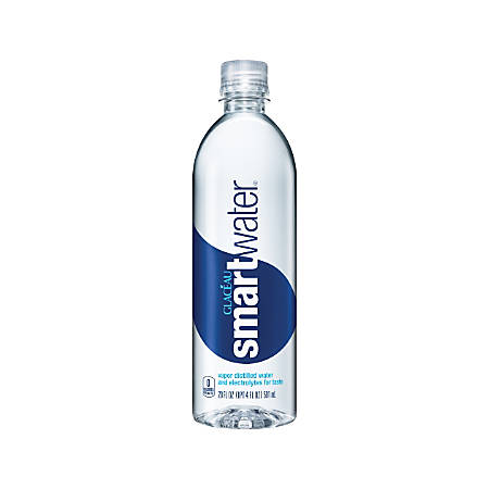 glacéau Smartwater, 20 Oz, Case Of 24 Bottles